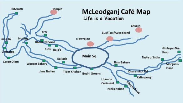 Cafes in Mcleodganj