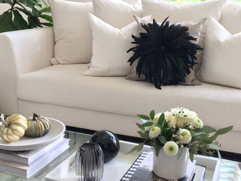 Modern Traditional Fall Living Room