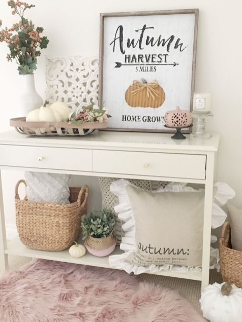 Fall Console Table 26