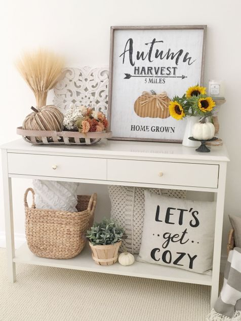Fall Console Table 6