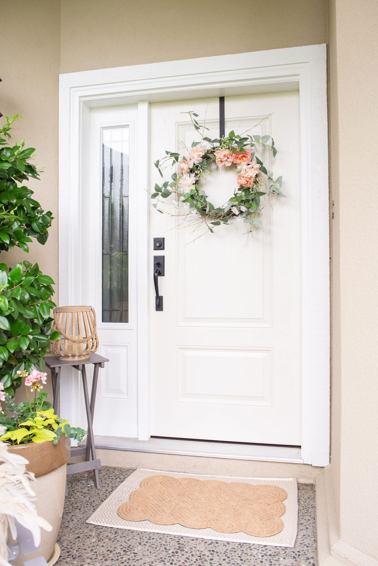 Front Door Refresh and Summer Porch