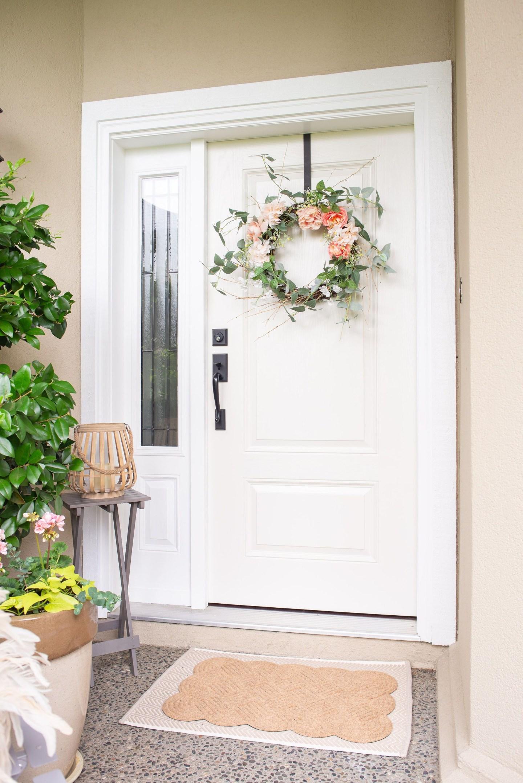 Front Door Refresh and Summer Porch