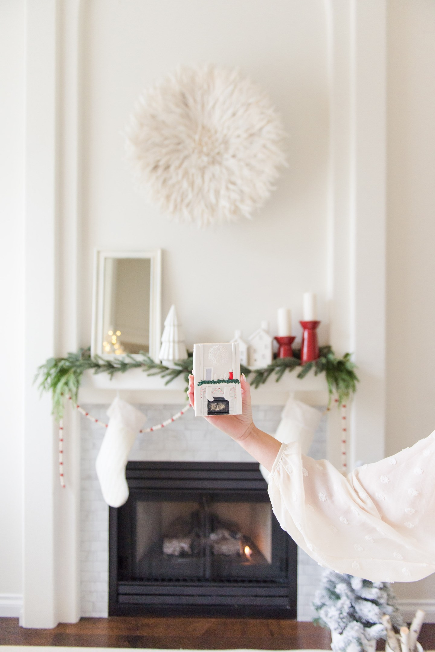 Classic Red and White Christmas Home Tour