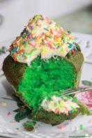 Matcha Green Velvet Cupcakes