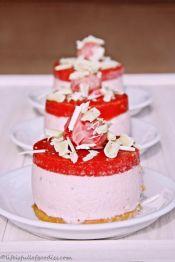 Erdbeer Sahne Törtchen