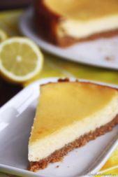 Käsekuchen mit Zitrone