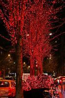 Nein, das war nicht im Rotlichtviertel, sondern vor dem luxuriösen Four Seasons Hotel.