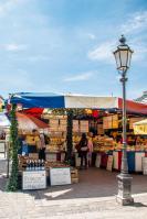 Auf dem Viktualienmarkt in München
