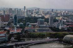 Aussicht vom Marina Bay Sands
