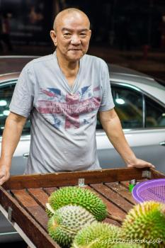 DER Durian-Guru von Singapur