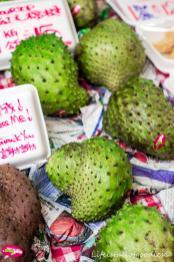 Exotische Früchte gab es überall