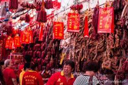 Den Geruch des getrockneten Fleisches muss man ertragenkönnen