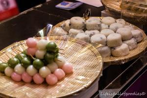 Mochi-Balls, das sind süße Bällchen aus Reismehl