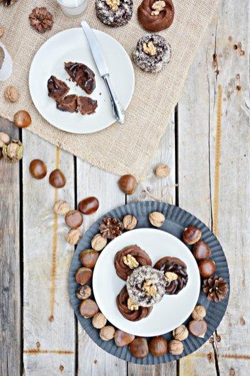 Gastbeitrag: Maronen Schoko Küchlein von den Foodistas