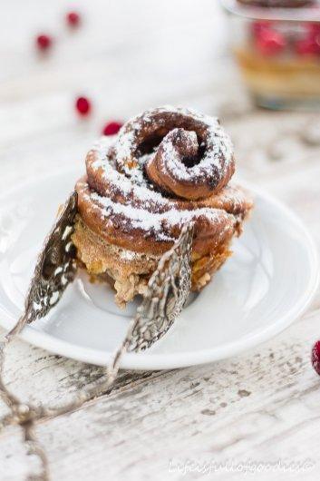 Zimtschnecken-Auflauf und HAPPY NEW YEAR!