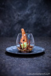 X-MAS Dinner 2016 – Birne, Basilikum, Kaffee