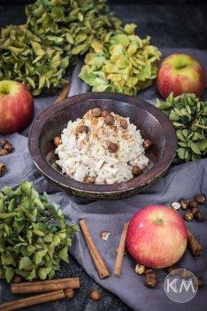 Apfel-Perlgraupen-Porridge von KAMA