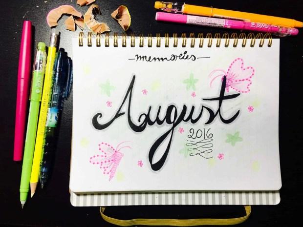 bullet journal august layout memories03