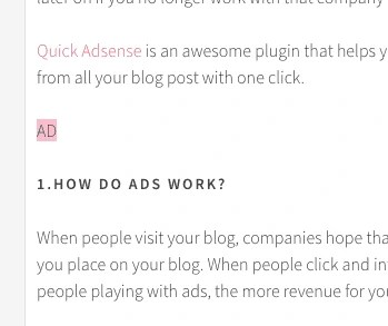 how to put ads on a blog