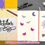 How To Create A Halloween Theme On Your Bullet Journal