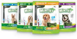 minties dog treats