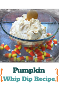 Pumpkin Whip Dip Recipe