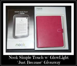 Nook Simple Touch Giveaway