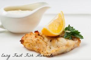 Easy Fiesta Fish Marinade