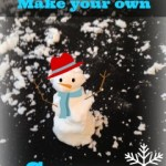 Make Your Own Snow. Great Sensory Project for Kids!