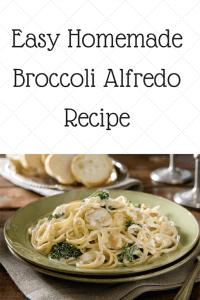 Easy Homemade Broccoli Alfredo Sauce Recipe