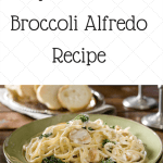 Easy Homemade Broccoli Alfredo Sauce Recipe