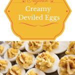 Creamy Deviled Eggs #Recipe