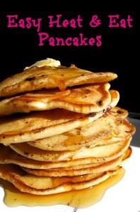 Easy Heat & Eat Pancakes
