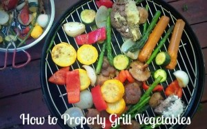 How to Properly Grill Vegetables