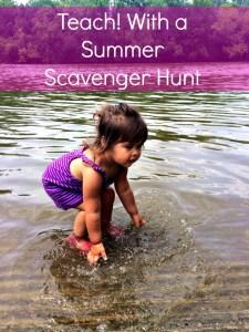 Teach! With a Summer Scavenger Hunt!