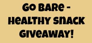 Bare Snacks Fruit Chips Giveaway!