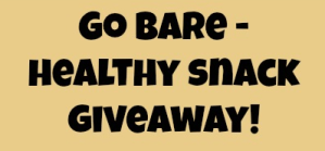 Bare Snacks Fruit Chips Giveaway!