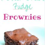 Better Choice Fudge Brownies