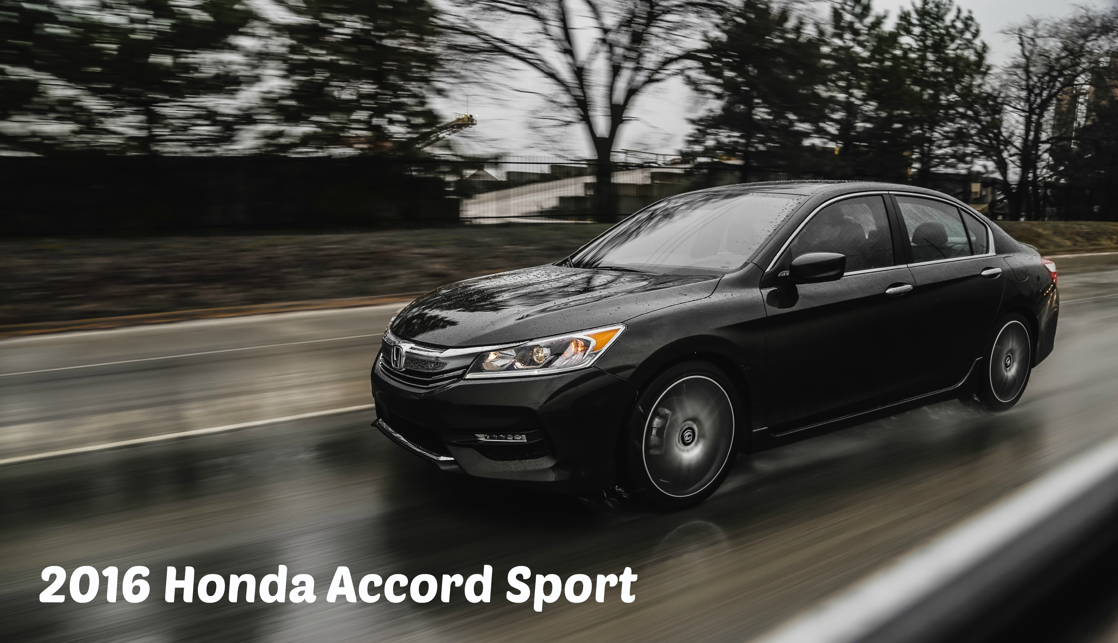 2016 Honda Accord Sport Review Cover