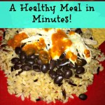 Healthy Dinner Idea in 60 Seconds with Minute® Ready to Serve Rice
