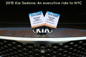 2015 Kia Sedona: An executive ride to NYC