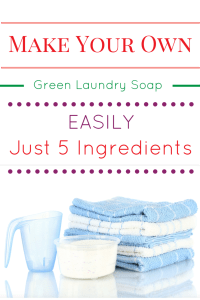 Make Your Own Green Laundry Soap Easily with Just 5 Ingredients