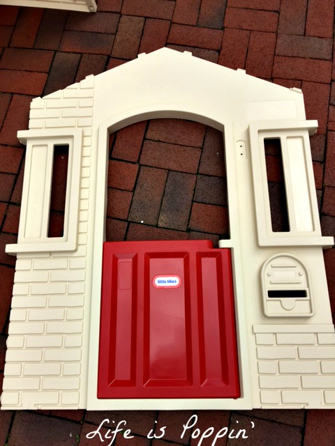 little tikes cozy cottage door