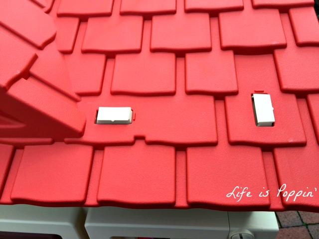 little tikes cozy cottage roof