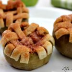 Lattice Crust Baked Apples