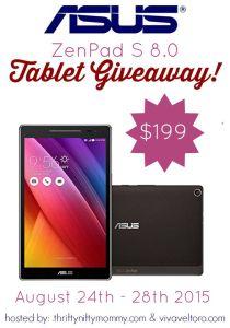 ASUS ZenPad S 8.0 Giveaway