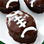 Dr. Pepper Football Brownies
