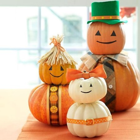 Cute Pumpkin Family