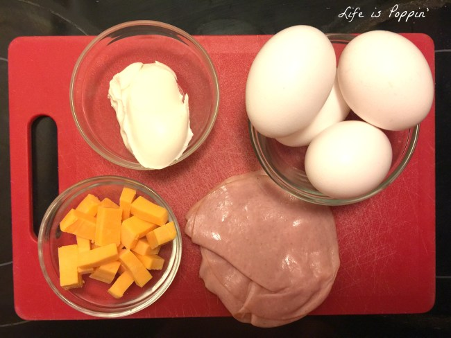 ham, egg, and cheese breakfast wraps ingredients