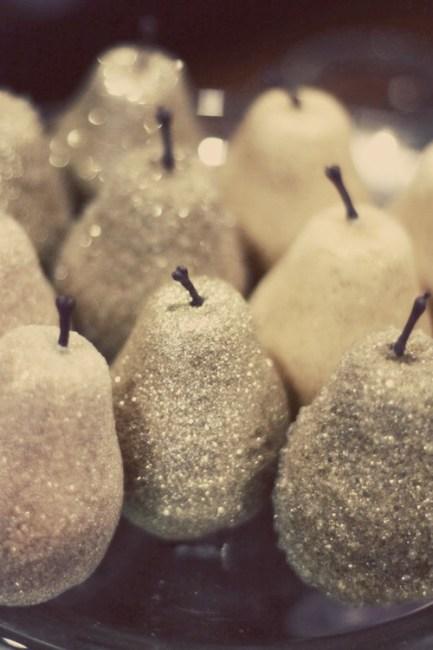 Glitter Fruit